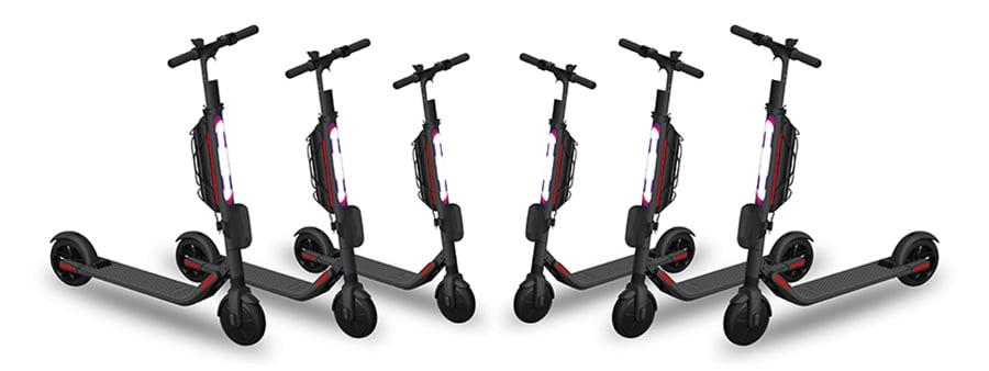 E-Scooter Sharing Vergleich