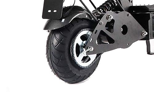 E-Scooter mit Sitz Ketten- Riemenantrieb