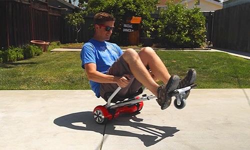 Hoverboard Sitz Wheelie